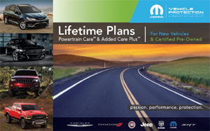 Lifetime  Powertrain Added