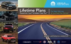 Lifetime  Powertrain Added